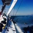"""31 marzo 2014: ecco le prime impressioni di Francesco che naviga a tutta velocità verso Genova – TAG Heuer VELAFestival: """"La barca è molto veloce e reattiva, al timone risponde […]"""
